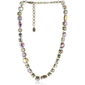Sorrelli Mirage Bold Multi Shaped Gold Tone Crystal