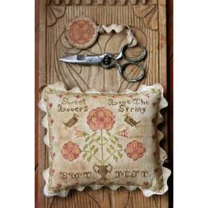 Sweet Lovers Love the Spring   Cross Stitch Pattern: Arts