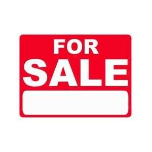 FOR SALE 18x24 Heavy Duty Plastic Sign