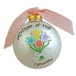 Personalized Mother of the Groom Ornament   Large