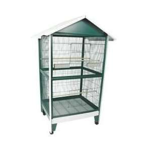 Extra Large Pitched Roof Aviary Bird Cage   79 Inch High