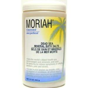 Moriah 2 Lb Original Dead Sea Salts & Minerals Beauty