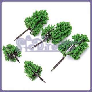 16 Lot MODEL PINE TREE for Railroad House Park HO SCALE