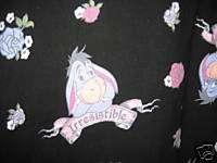 Winnie Pooh Bear EEYORE Irresistible Lounge Pants XL
