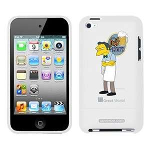 Moe Syzlak from The Simpsons on iPod Touch 4g Greatshield