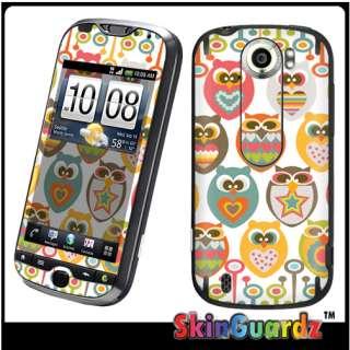 Owl Vinyl Case Decal Skin Cover HTC MyTouch 4G Slide