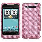 Crystal BLING Hard Case Phone Cover Verizon HTC Merge ADR6325