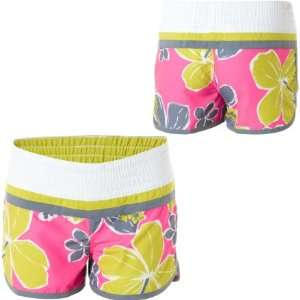 Raisins Aloha Dreamin Board Short   Girls Margarita Pink, M: