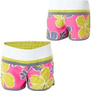 Raisins Aloha Dreamin Board Short   Girls Margarita Pink, M: