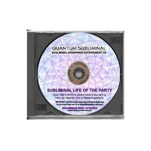 BMV Quantum Subliminal CD Be the Life of the Party