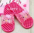 Women Hello kitty PINK Slipper Sandals Flips Flops SHOES for Bathroom