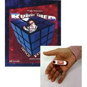 French Rubrics Cubed Book on Flash Drive