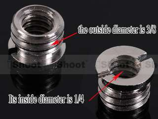 Metal Adapter Screw Nut for Tripod Ball Head
