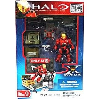 Halo Wars Mega Bloks Exclusive Mini Figure Set #1 Red