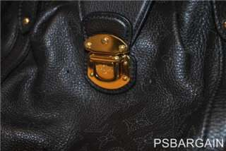 MINT Authentic Louis Vuitton Mahina Leather Lunar Chocolate Bag (Value