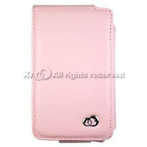 Pink luxury leather case for Apple iPOD Classic 160/80/60