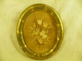 Antique Gold Leaf Frame   Oval   Circa 1860