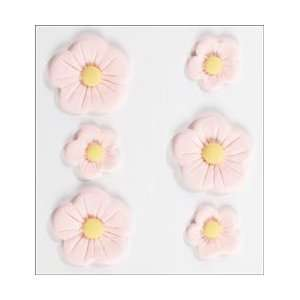 Large Pink Fondant Flowers; 3 Items/Order Arts, Crafts & Sewing