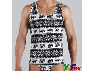 MENS SINGLET TANK TOP DESIGNER FASHION PRINTS VEST T SHIRT US SIZE S M