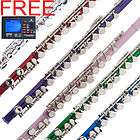 NEW SILVER BLUE GREEN PURPLE RED PINK STUDENT C FLUTE