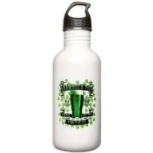 Stainless Water Bottle 1.0L Shamrock Pub Luck of the Irish