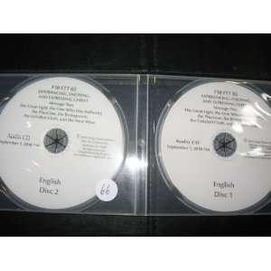 NEW WINE; 2 CDS; SEPT 1, 2010 LIVING STREAM MINISTRY; ANAHEIM Books