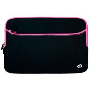 11.6 12 Laptop Notebook Sleeve Bag Case Pouch w/ Pocket for Pink