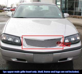 00 05 Chevy Impala Stainless Mesh Grille Insert