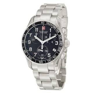 Victorinox Swiss Army Mens 241171 Chrono Classic Black Dial Watch