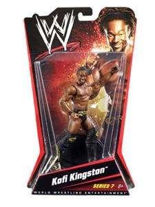 KOFI KINGSTON WWE MATTEL BASIC SERIES 7 ACTION FIGURE