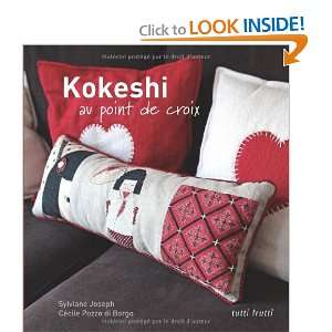kokeshi au point de croix et autres points (9782915667738): Books