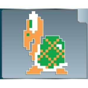 KOOPA TROOPA in Green 8 bit from Super Mario Bros. vinyl