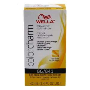 Wella Color Charm Liquid #0841 Light Golden Blonde