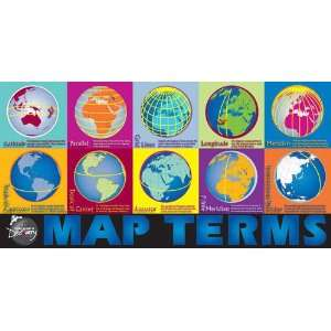 Map Terms Chart