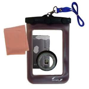 Gomadic Clean n Dry Waterproof Camera Case for the Sony Cyber