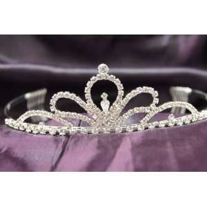 Beautiful Princess Bridal Wedding Tiara Crown with Clear