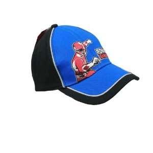 Baseball Cap   Power Rangers   Red Ranger   Blue and Black