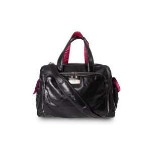 Ju Ju Be   Be Prepared Earth Leather Diaper Bag   Black
