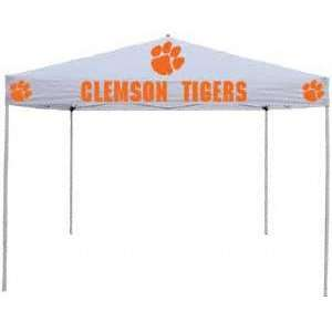 sc 1 st  PopScreen & Clemson Tigers White Tailgate Tent Canopy on PopScreen