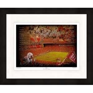 University of Nebraska Huskers Artwork Big Red 11x14