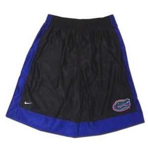 Nike Florida Gators Black W/Blue Trim HARD SCREEN Basketball Shorts
