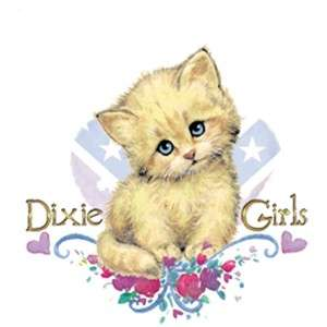 Dixie Southern Girls  SAD KITTY WITH BLUE EYES