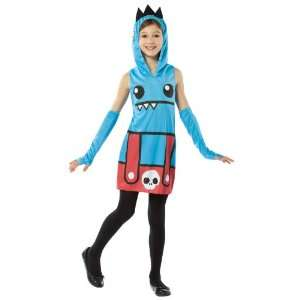 Ozzie Dress Child Costume / Blue   Size Medium 7 10: Everything Else