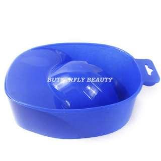 Powder Nail Art Hand Remove Wash Soak Bowl Tool D20