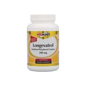 Vitacost Longevatrol Stabilized Polyphenol Complex    200