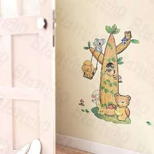 Animal Tree Friends   Large Wall Decals Stickers Appliques