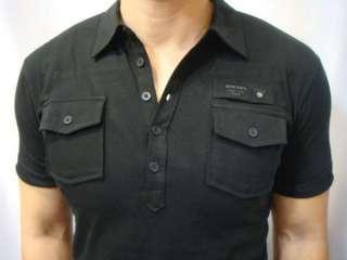 NWT Diesel Brand Mens T MAYA RS Soft Slubbed Polo Shirts