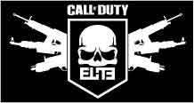 Call of Duty COD Elite Logo Vinyl Sticker Decal   Various Sizes and