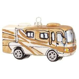 Personalized Recreation Vehicle Christmas Ornament:  Home