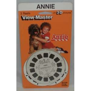 Annie View Master 3 Reel Set   21 3d Images Toys & Games